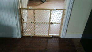 Child or pet safety gate.