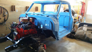 1969 GMC C15 Restoration Project Truck