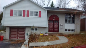 Detached house in DDO for rent July 1