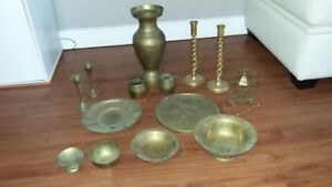 14    items in Chinese Brass.....