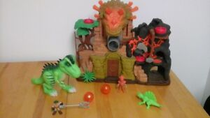 Imaginext forteresse de la jungle et T-Rex