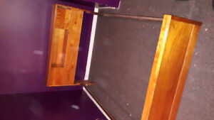 Need a double bed and dresser with mirror? Gently used...$100.00