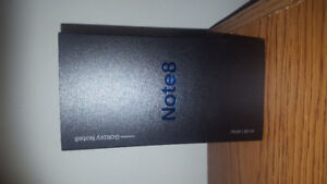 ★★★ Samsung Galaxy Note 8 - 64Gb - Factory Unlocked - Black ★★★
