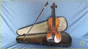4/4 OLD BOHEMIAN Violin / EXCELLENT shape / Appraised at 1800$