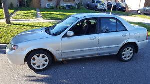 2002 Mazda Protege ES Sedan