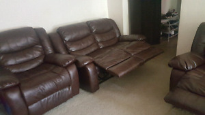 Couch and recliner