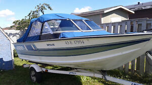 16`.6 Legend Fishing and Sport Boat with trailer (no motor)