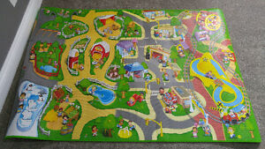 Little people floor mat