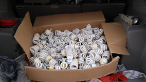 500 (Roughly) Used Fluorescent Light Bulbs $200 OBO