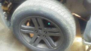 2006 charge rims an tires
