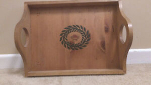 Wooden Handcrafted Serving Tray