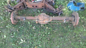MGB Complete Tube Style  Rear Axle