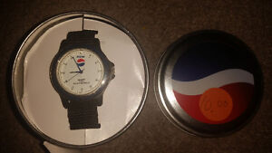Old vintage Pepsi watch in brand new condition with case!!!!!!!! London Ontario image 1