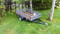 4 x 6 Utility Trailer. located in Cornwall, PE