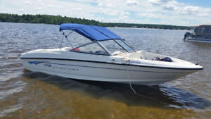 2008 Bayliner 175 Bowrider With Galvanized Bunk Trailer