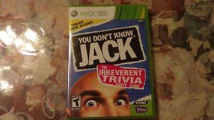 You Don't know Jack Xbox 360 ($12)