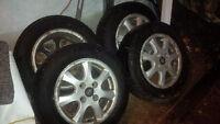 Winter Tires. On Rims. 195/65 r15 $250 -obo-