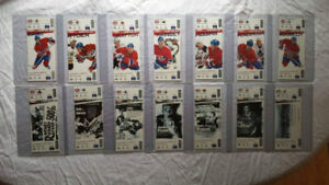 122 unused Montreal Canadiens season ticket lot, NHL hockey WOW.