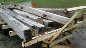 OLD barn Beams , Boards, Tin And Misc Wood