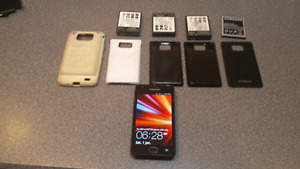 Samsung Galaxy S2 and accessories