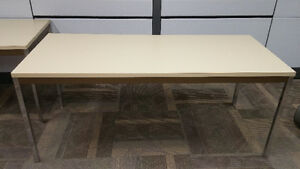 Various Wooden and Metal Frame Office Tables Regina Regina Area image 2