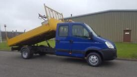 2009 09 PLATE IVECO DAILY 50C15 CREW CAB TIPPER