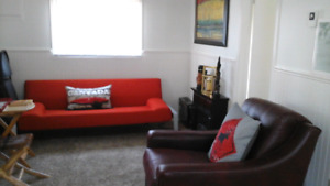Furnished cottage near downtown Halifax, Parks & NW Arm