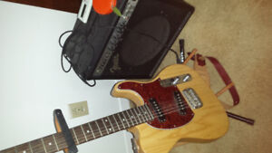 Great guitar with amp MAKE ME A OFFER