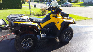 Can am Outlander 800 Max 2014 (comme neuf)