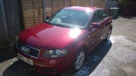 Audi A3 2.0 FSI RED 2004