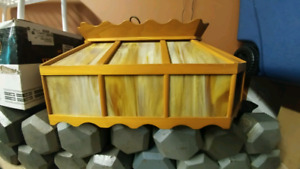 Pool Table Bar Style Glass Wood Lamp