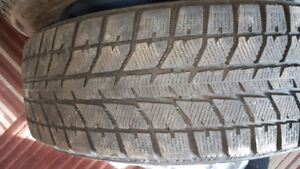 4 Used 195/65/R15 Bridgestone Winter Tires