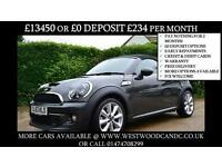 2013 MINI ROADSTER 1.6 COOPER S CONVERTIBLE PETROL