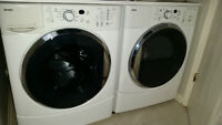 Laveuse HE2T secheuse HE2, kenmore frontales