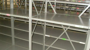 Used Shelving/ Etageres Usage