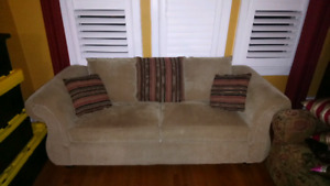 Couch / Loveseat hardly used