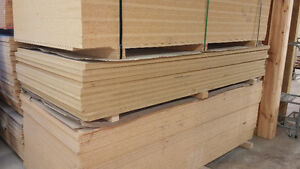 "Raw Particle Board - 1-1/2"" x 4' x 8' Sheets"