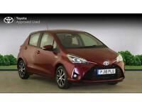 2018 Toyota YARIS HATCHBACK 1.5 Hybrid Icon Tech 5dr CVT Auto Hatchback Petrol/E