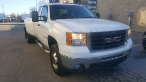 2009 GMC SIERRA C3500 EXTENDED DULLY WHEEL LIFT WRECKER PTO MINT