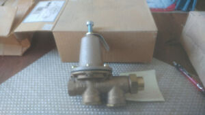 New watts water pressure reducing valve 1/2