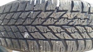 "(1)-Only 195/65/15"" Goodyear winter tire"