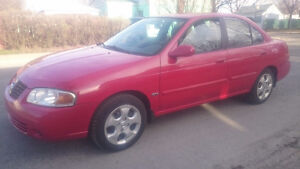 2005 Nissan Sentra Special edition 1.8 NO RUST PERFECT MECHANIC