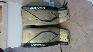 Goalie pads, Bauer supreme one80