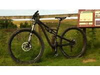 """Specialised 29"""" Camber Comp Fully Carbon Mountain Bike"""