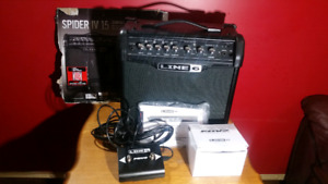 NEW LINE 6 SPIDER IV w/ PEDAL