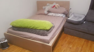 130$ - MALM BED FRAME - DOUBLE