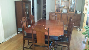 Dining Table and Buffett