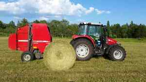 Buying standing hay and renting workable farmland
