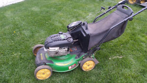John Deere JS63 walk behind mower  GREAT SHAPE!!