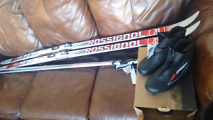 Brand new cross country skis and poles!